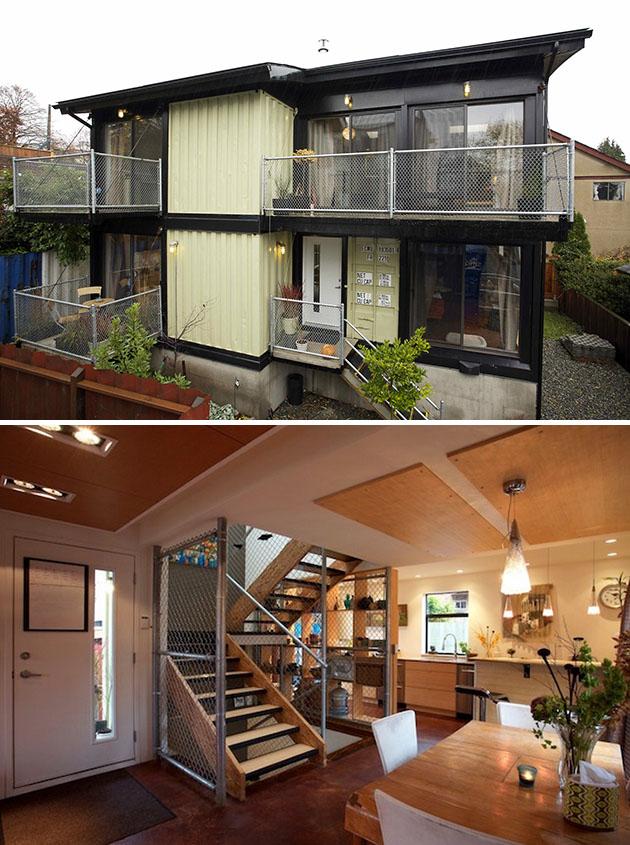 Container House You Could Build A Luxury Tiny House With Shipping