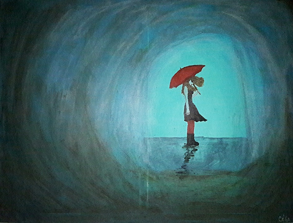 Alone Girl Wallpaper In Rain 5 Signs That You Might Be Depressed