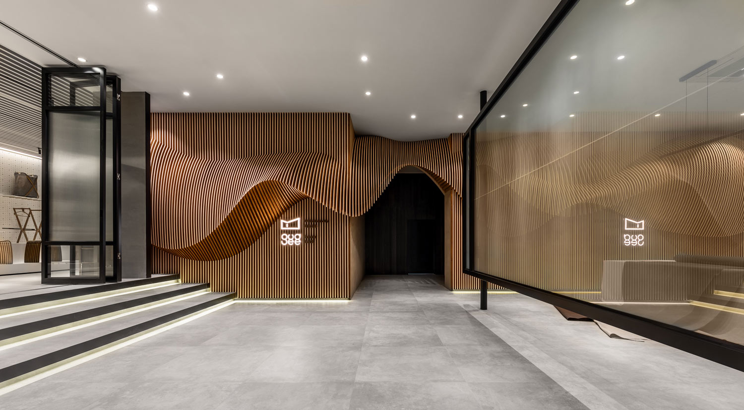 Tung Tsan Lee Gudee Headquarters In Shangai The Dialogue Between Fabric And Bamboo