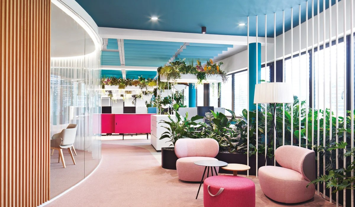 Nudging And Interior Design A Tropical Oasis To Raise Productivity