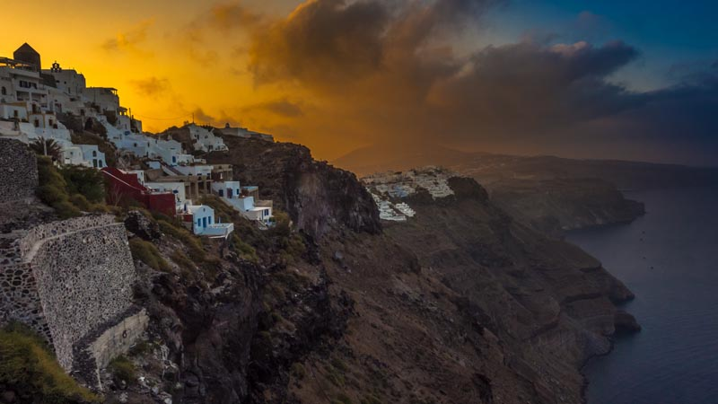 Sizzling Santorini The Sexiest Stop In The Greek Isles