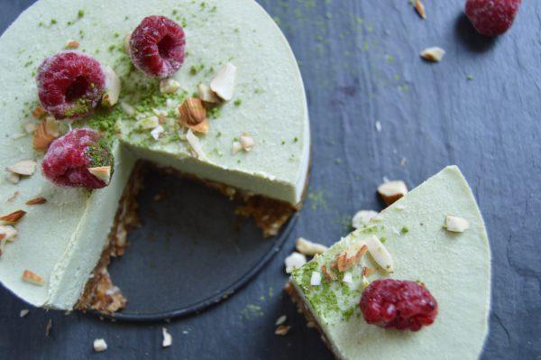 vegan_macha_cheese_cake