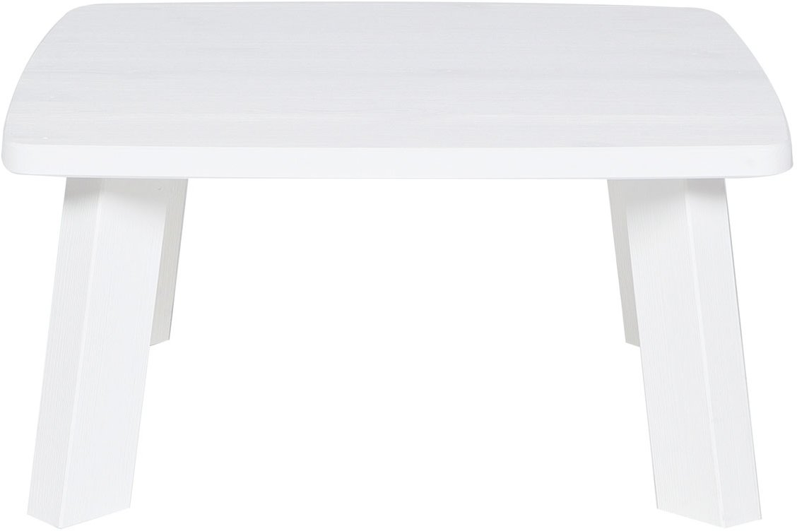 Woood Jade Woood Tonda White Side Table