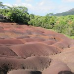 The colorful topography of the Seven-Colored Earth.