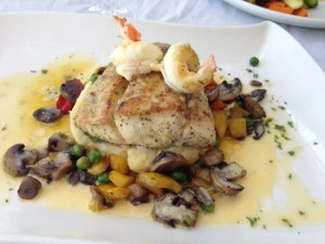 I enjoyed the Kingklip fish as a main dish from Biaia