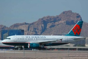 US Airways' last merger was with America West.