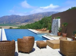 The pool at Casa Lapostolle is one of the valley's prettiest spots.