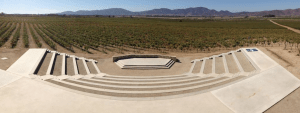 The amphitheater at The Museo del Vino.