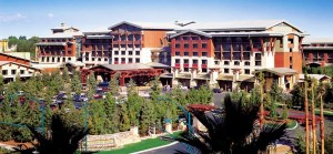 Disney's Grand Californian Hotel & Spa.