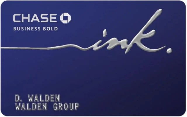Chase Ink Bold Gives 5x Points on Office Supply Store Purchases