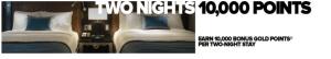 Club Carlson 2 Nights 10K
