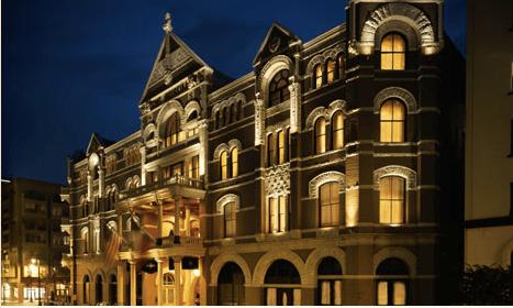 The Driskill Hotel in Austin, Texas.