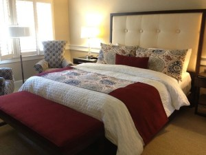 King guest suite at Fess Parker Wine Country Inn & Spa.