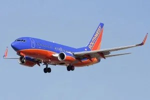 Southwest Airlines has the largest presence in San Diego.
