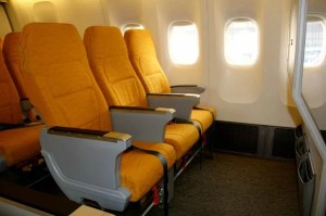The child-free zone will be in Scoot's Stretch cabin.