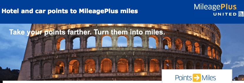 United Plus Miles