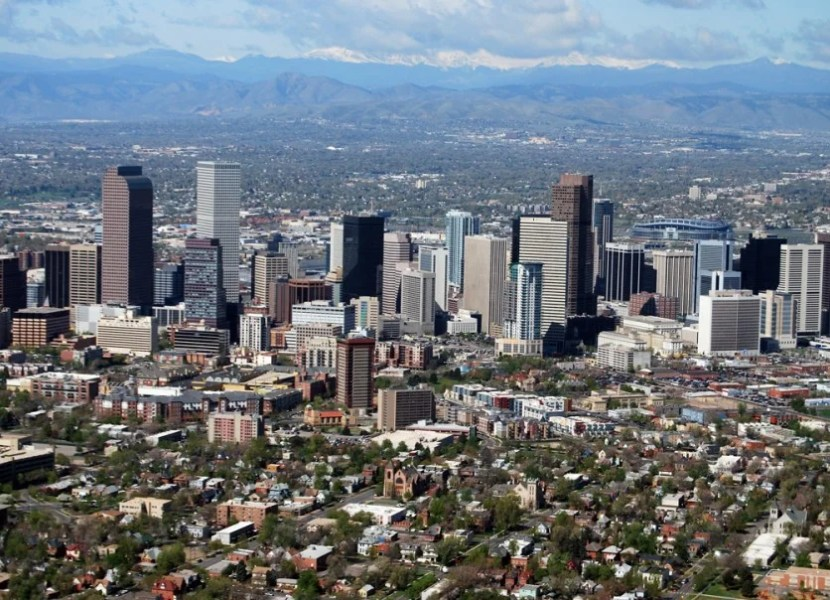 A view of Denver.