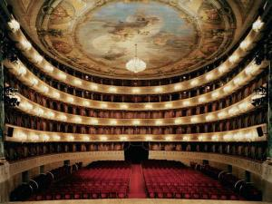 La Scala Opera House, designed by architect Giuseppe Piermarini in the late 1700's.