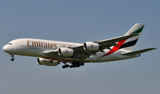 Emirates flights can be booked using Alaska miles