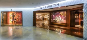 Pacific Place has high end shops like Louis Vuitton.