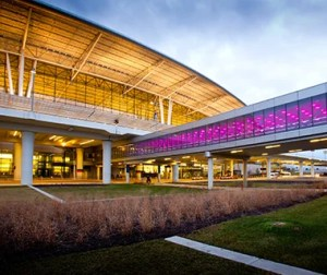 Indianapolis was ranked the top US airport by T+L. Photo by John Fleck.