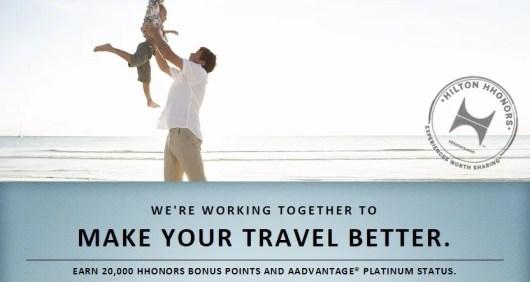 Hilton American Airlines partnership 2