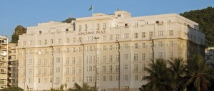 The landmark Copacabana Palace.