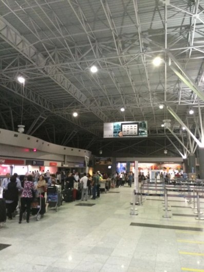Pandemonium in Recife after a 1:30am flight cancellation