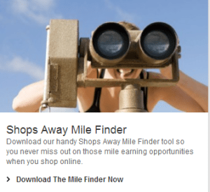 Get 500 bonus miles for downloading the Virgin Atlantic Shops Away Mile Finder.