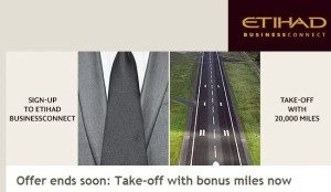 Sign up for Etihad BuisnessConnect
