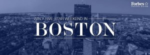 Win a trip to Boston