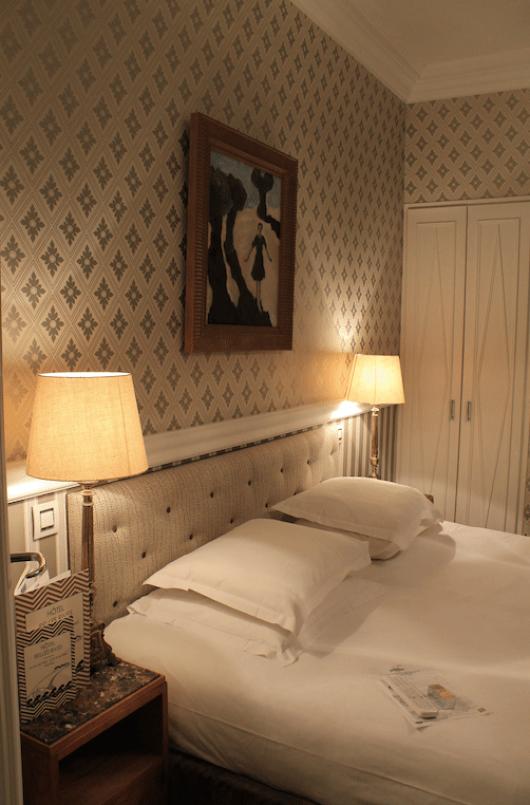 Queen-bedded room