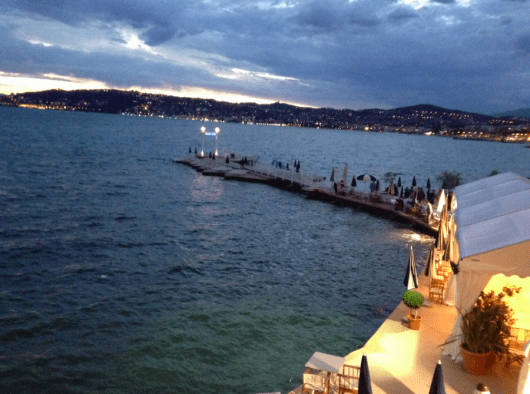 Another view of the pier on the bay of Juan-Les-Pins