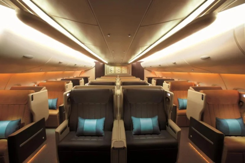 I also really wanted to try Singapore's long-haul business class. Photo courtesy of Singapore Airlines.