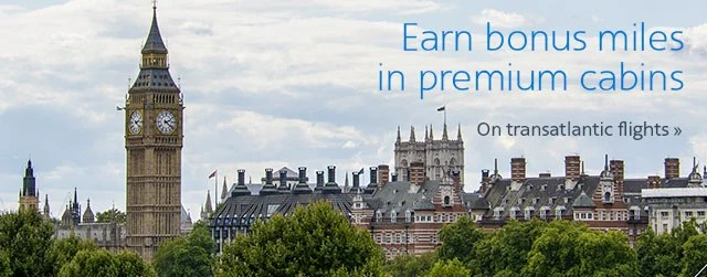 Earn up to 125,000 miles to Europe on American.