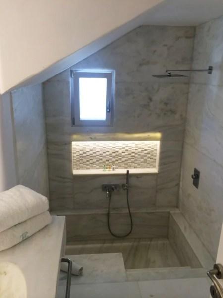 Fancy tub/shower combo in my bathroom