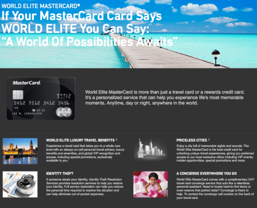 As a World Elite Mastercard, the Arrival Plus comes with a host of added benefits.
