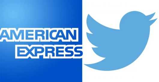 American Express allows you to link your card to your Twitter feed to earn discounts from various merchants.