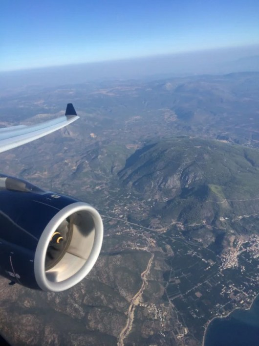 Nothing quite like landing in a new country - in my case, Greece!