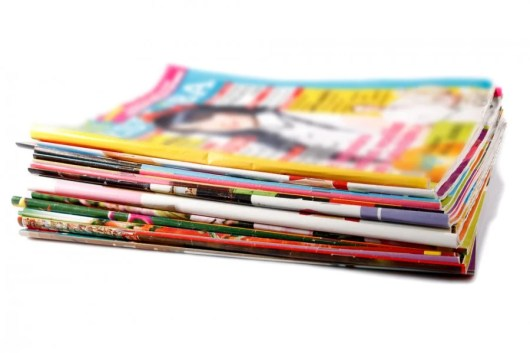 Subscribe to some magazines? If they have address labels with your info, bring them along to the airport (Image by Shutterstock)