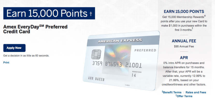 The EveryDay Preferred's 50% transaction bonus could be a great way to maximize your bonus points on a tax payment.