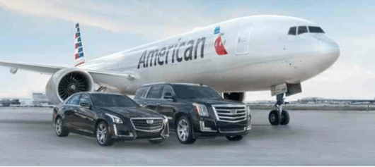 American Airlines and Cadillac recently launched a  new partnership.