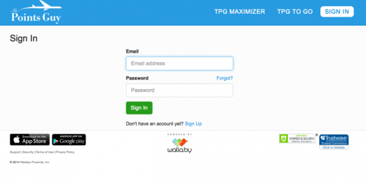 Connect your wallet through our web based tool, Maximizer.