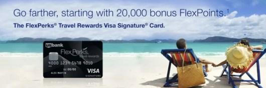 US Bank Flexperks Travel Rewards card banner