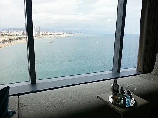 Enjoy some spirits with your view