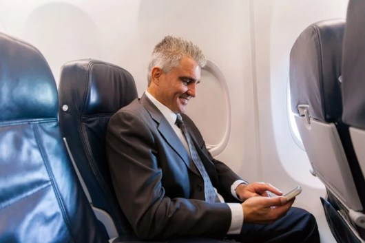 The EU has approved use of mobile devices sans airline mode. Shutterstock.