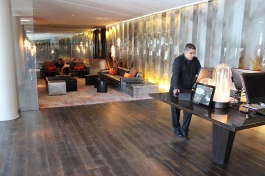 Andaz West Hollywood - front desk and lobby