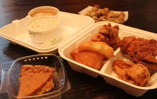 Grab your grub to go at Ezell's.
