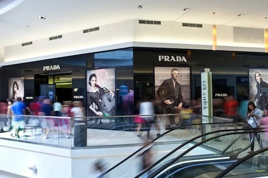 Prada at the Fashion Outlets of Chicago