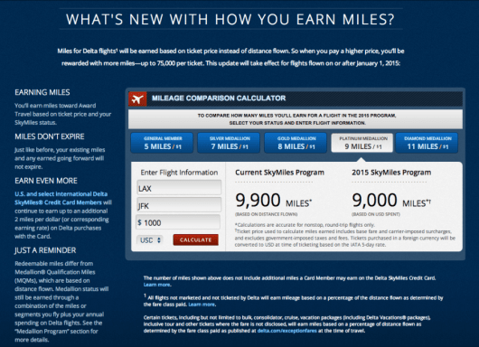 The new revenue-based earning scheme really took Delta SkyMiles in a new direction.